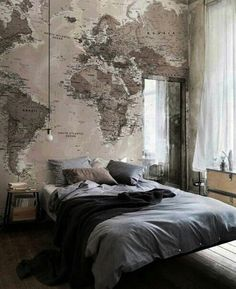 Map obsession.