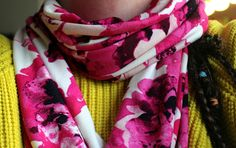 Infinity scarf - quick and easy to stitch