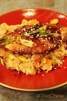 Don't miss out on this easy-to-make Chicken Teriyaki with Pineapple and Edamame Rice dish for your weeknight dinners!