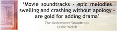 The Undercover Soundtrack – Leslie Welch | My Memories of a Future Life