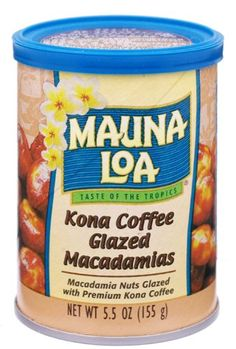 Mauna Loa Macadamias, Kona Coffee Glazed, 5.5-Ounce Canisters (Pack of 6) >>> To view further, visit : Fresh Groceries
