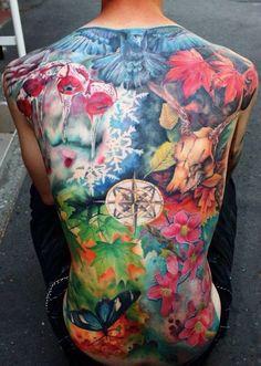 Seasons tattoo