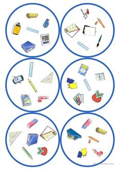 Games in German lessons: Dobble - school supplies cards / 6 symbols) - Holly's Education Archive Languages Online, Foreign Languages, Ways Of Learning, Student Learning, Importance Of Education, Classroom Language, Learn A New Language, German Language, English Lessons