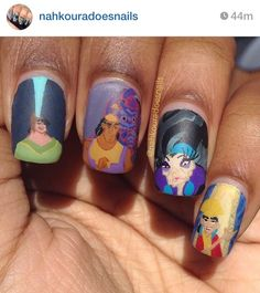 The emperor's new groove nails