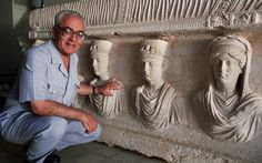 """20 August 2015 - Jihadists from ISIL have murdered a renowned archaeologist in the Syrian city of Palmyra after he refused to give up the secrets of its ancient treasures. Khaled al-Asaad, the 82-year-old long-time director of the Palmyra site, was beheaded in a local square before his body was hung on public display. In a photograph purporting to show his body, a handwritten sign accused him of representing Syria in conferences abroad with """"infidels"""" & of being director of Palmyra's…"""