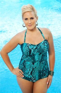 c36cfe0a4c985 As seen in PLUS Model Magazine -The Serpent 1 Pc Underwire Swimsuit Style  by Always 4 Me is a stunning addition to our 2012 plus size swimwear  collection.