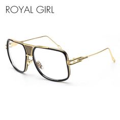ROYAL GIRL Fashion Eye glasses Frames for Women men Clear glasses Vintage  Spectacle Frames monturas de gafas feminino ss767 d119676491bc
