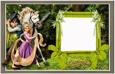 Tangled: Free Printable Invitations, Labels or Cards. Free Printable Birthday Invitations, Digital Invitations, Party Printables, Free Printables, Disney Photo Frames, Rapunzel Birthday Party, Barbie Theme, Oh My Fiesta, Disney Tangled