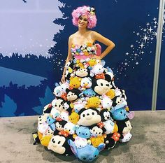 10 Disney-Approved Costumes to Copy From This Year's D23 Expo via Brit + Co.