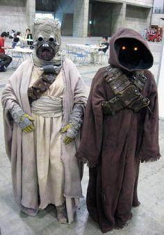 Stars Wars Jawa Costumes
