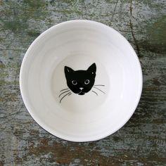 Cat Nappy Bowl