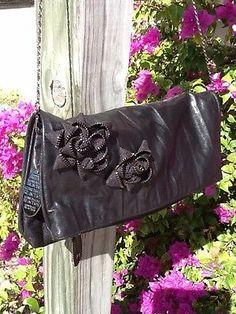 "NWT Kenneth Cole Reaction ""Rose Zip"" Clutch/Shoulder BaG Retail $79 L@@K!"