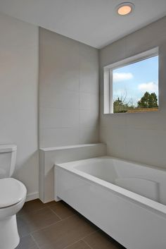 Contemporary Full Bathroom with Ms international classico blanco 12 in. x 24 in. glazed porcelain floor and wall tile
