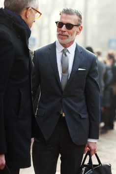 can my guy be this stylish when he is old? Oh, please?