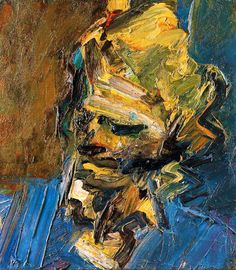 Catherine Lampert, a former director of the Whitechapel Gallery and author of a new book on Frank Auerbach, has curated a major retrospective on the artist. She is also painted by Auerbach every week Frank Auerbach, Neo Expressionism, Artwork Images, Royal College Of Art, A Level Art, Portrait Art, Portrait Paintings, Male Portraits, Painting Inspiration
