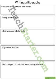 How to Start an Autobiographical Essay