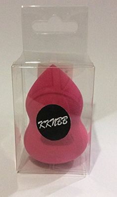 KKNBB Beauty Sponge Blender in Rose Red Makeup Applicator Hypoallergenic with High Quality LatexFree *** Click image to review more details.