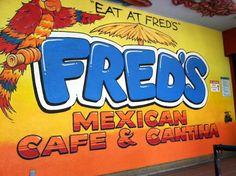 Fred's Mexican Cafe, Huntington Beach California