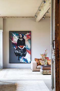 casa de Lita Cabellut en La Haya