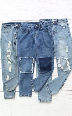 Style denim pant collection for women. Women Jeans collection at shein.com.
