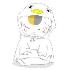 Nyanko-sensei as elizabeth Anime Neko, Kawaii Anime, Manga Anime, Anime Art, Natsume Takashi, Nyan Nyan, Hotarubi No Mori, Natsume Yuujinchou, Japanese Illustration