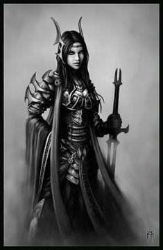 Female vampire warrior concept 02 by KARGAIN on deviantART