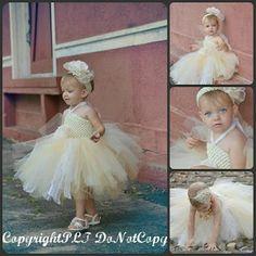 Midsummer Dream Little Girls Fancy Vintage Lace Tutu Dress