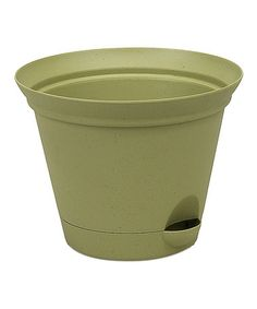 Another great find on #zulily! Green Self-Watering Planter #zulilyfinds
