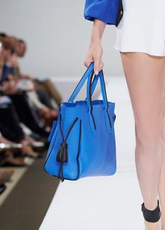 e3ac30e06c We scoured the Paris Fashion Week Spring 2016 runways to find the two dozen  best designer handbags.