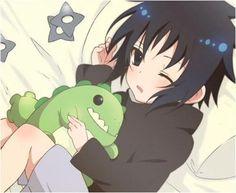 Cute Sasuke. #naruto