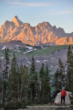 Michael Lanza (Northwest Editor of Backpacker Magazine) blogs about his 25 Favorite Backcountry Campsites. Wow - a must-read!
