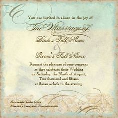 Great Egret Coastal Beach - Wedding Invitation invitation  Can be purchased by clicking on card and then click website.