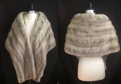 Silver mink, so stunning with your fall or winter wedding gown! Only at moxiefurs *SOLD*