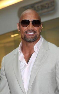 The Rock Dwayne Johnson, Rock Johnson, Dwayne The Rock, Hot Men, Sexy Men, Bald Men, Hommes Sexy, Raining Men, Sharp Dressed Man
