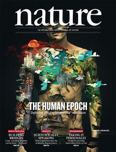 Nature, illustration cover Volume 519 Number 7542 pp129-256
