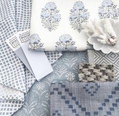 Lisa Fine Mughal Flower Pillow Cover in Monsoon // Designer Flower Pillow // Blue Throw Pillows // Farmhouse Pillow Cover, Home Accessories, Lisa Fine Mughal Flower Pillow Cover in Monsoon // Designer Blue Throws, Blue Throw Pillows, Owl Pillows, Cushions, Burlap Pillows, Decorative Pillows, E Textiles, Fabric Board, Dash And Albert