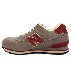 New Balance 574 Mens Laced Suede & Mesh Trainers