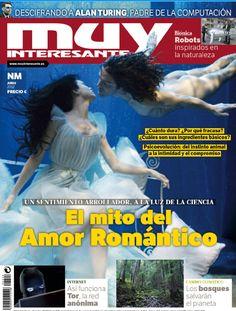 """Portada de Muy Interesante del mes de junio de 2012, número 273, con el tema de portada sobre """"El mito del Amor Romántico""""."""