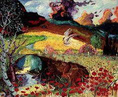 Peter Dean, 1982. Doovekill poppies