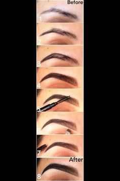 How to do Pinup style eyebrows.
