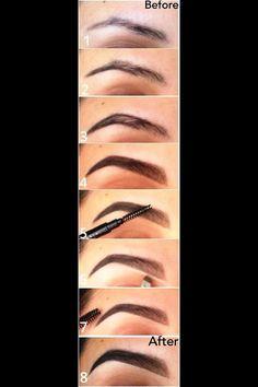 Make-up Tutorial Concealer Konturierung Highlights Ideen - . - Makeup Contour - Make-up World Beauty Make-up, Beauty Secrets, Beauty Hacks, Hair Beauty, Best Makeup Tutorials, Makeup Tutorial For Beginners, Best Makeup Products, Beauty Products, Eyebrow Products