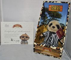 LIMITED EDITION SAFARI OLEG COMPARE THE MEERKAT / MARKET TOY, NEW IN BOX, SEALED