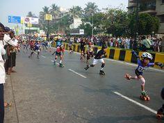 Do not miss Car Free Day #Mumbai at Carter road..#kids