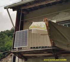 PV 80W DIY alpine house  http://www.wutel.net/sole80   Impianto FV 80W per illuminazione baita alpina.