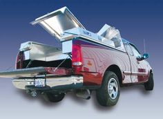 Truck body built for pickups by Highway Products.