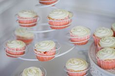 Cupcakes by the talented @Whitney Dumford Eleanor's Baptism Party--the deets |Vegan Faith