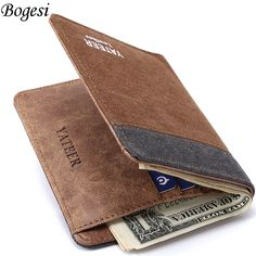 Wallet Purses Men Wallets Carteira Masculine Billeteras Porte Monnaie Monedero Famous Brand Male Men's Walet 2016 New Arrive #>=#>=#>=#>=#> Click on the pin to check out discount price, color, size, shipping, etc. Save and like it!