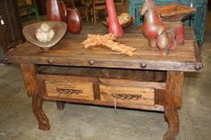 We have a wide array of Western Decor & Southwestern Style Furniture. Visit our showroom today.