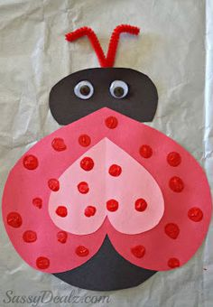 valentine's day monster crafts