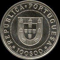 100 Escudos - 1990